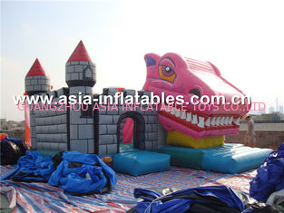 चीन 2014 high quality jumping castles inflatables combo फैक्टरी