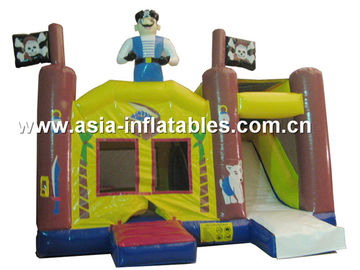 चीन 2014 Hot sale Inflatable bouncer house Inflatable combo with slide फैक्टरी