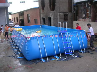 चीन Lovely New Design Huge Commercial PVC Adults and Kids Inflatable Pool with Various Colours फैक्टरी