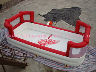 चीन White Colour Kids Inflatable Pool with Back Walls फैक्टरी