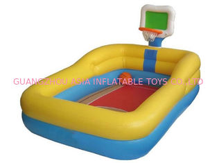 चीन Hotsale Kids Inflatable Pool Center with Basketball Hoop फैक्टरी