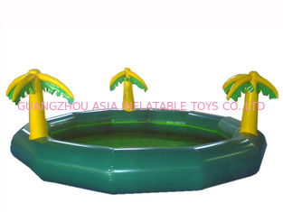 चीन Homeusing Water Park Kids Inflatable Pool with Plam Trees फैक्टरी