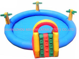 चीन 2014 Commercial Inflatable Water Park Kids Inflatable Pool with Slide for Outdoor Using फैक्टरी