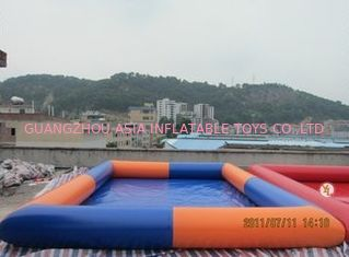 चीन Colored Rectangular Kids Inflatable Pool for Water Park Games Using फैक्टरी