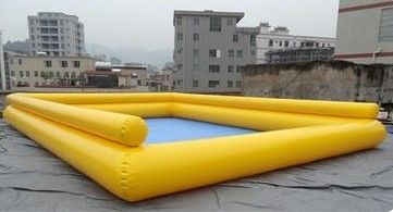 चीन Colourful Double Pool Kids Inflatable Pool for Water Games Play फैक्टरी