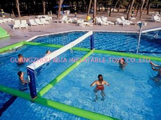 चीन Inflatable Water Volleyball Field For Swimming Pool Sports Games फैक्टरी