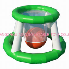 चीन Aqua Park Inflatable Water Basketball Shot Games For Adults फैक्टरी