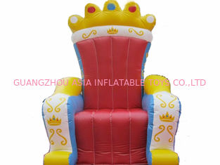 चीन Chinese Supplier Advertising Inflatable King Chair Sofa For Chair Furniture Exhibition फैक्टरी