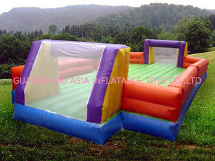 चीन Ce Inflatable Soccer Arena Court For Outside Use , Inflatable Soccer Field For Outside फैक्टरी