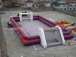 चीन China Supplier Inflatable Sports Football Pitch Without Floor Sheet , Inflatable Soccer Field फैक्टरी