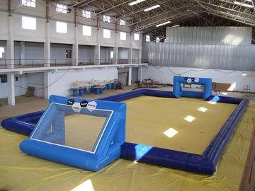 चीन commercial inflatable soccer field / soccer pitch for outdoor soccer games फैक्टरी
