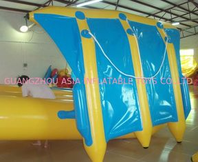 चीन Exciting Inflatable Flying Fish Boat for Entertainment , Easy To Set Up फैक्टरी