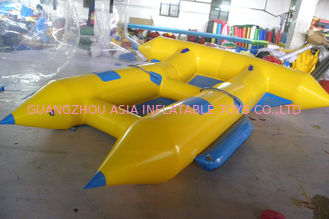 चीन Customize Inflatable Flying Fish Boat for 4 Rides Ocean Adventure Sport फैक्टरी