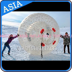 चीन Clear Inflatable Human Hamster Ball ,  Zorb Ball Used On Snow फैक्टरी