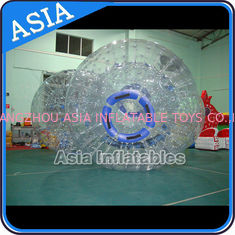 चीन Safety 1.0mm TPU Clear Inflatable Zorbing Grass Zorb Ball In Stock फैक्टरी