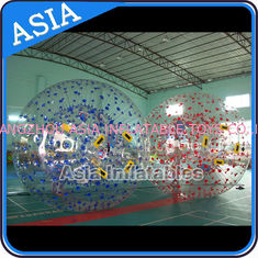 चीन Color Dots Inflatable Zorb Ball , Grass Zorb Ball , Inflatable Human Hamster Ball Customized for Kids and Adults फैक्टरी