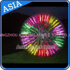 चीन Popular Inflatable Zorb Ball , Glow Zorb Ball , Fluorescent Roller Ball फैक्टरी