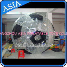 चीन Football Shape Inflatable Zorb Ball , Zorbing Ball Used On The Sea फैक्टरी