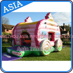 चीन Inflatable Royal Carriage Moonwalk Bouncer For Children Party Hire Games फैक्टरी