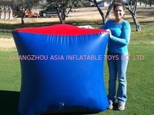 चीन Inflatable Paintball Bunker BUN26 with Flexible and Durable Anchor Strings फैक्टरी