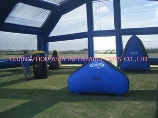 चीन Water Proof Inflatable Paintball Arena ARENA07 with Durable Anchor Rings फैक्टरी