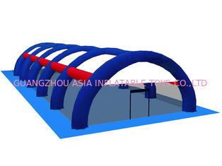 चीन 0.9mm PVC Tarpaulin Inflatable Paintball Arena ARENA08 फैक्टरी