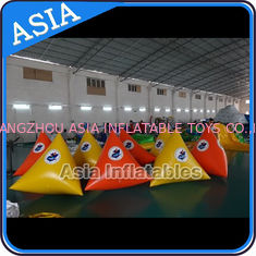 चीन Customized Simple Floating Inflatable Buoys For Aqua Park फैक्टरी
