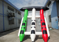 4-6 Passangers InflatableTowable Sport Games/ Fly Fishing Boat Fish Raft Boat आपूर्तिकर्ता