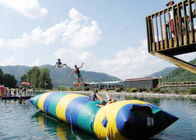 Floating Inflatable Water Trampolines , Lake Inflatable Water Blob आपूर्तिकर्ता