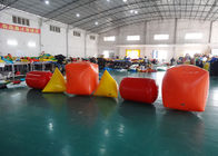 Triangle ,  Cube Shape and Cylinder shape of Inflatable Buoy On Sale For Water Games आपूर्तिकर्ता