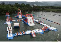 अच्छी गुणवत्ता एक्वा रन Inflatables & Commercial Inflatable Water Parks For Amusement Resort Flame Resistance बिक्री पर