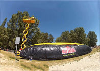 Hot sale inflatable stunt jump air bag,Adventure Inflatable Air bag for skiing आपूर्तिकर्ता