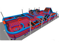 Funny Inflatable Amusement Park Interactive Sports Games Anti - Ruptured