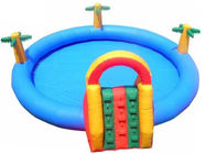 2014 Commercial Inflatable Water Park Kids Inflatable Pool with Slide for Outdoor Using आपूर्तिकर्ता