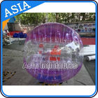 Half Clear Crazy Body Bubble Ball / Bubble Body Ball For Soccer Games आपूर्तिकर्ता