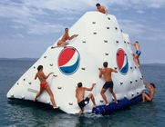 अच्छी गुणवत्ता एक्वा रन Inflatables & Business Logo / Slogan Printed Iceberg For Inflatable Water Games In Park And Sea Shore बिक्री पर