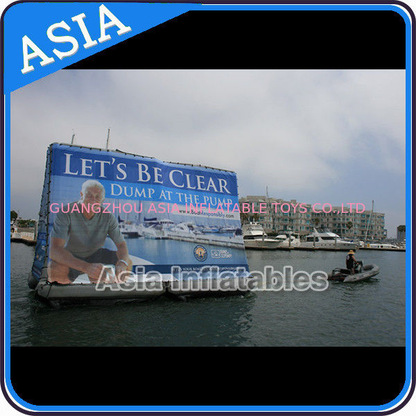 Inflatable Billboard For Publicity ,  Advertising Inflatables Screen Banner आपूर्तिकर्ता