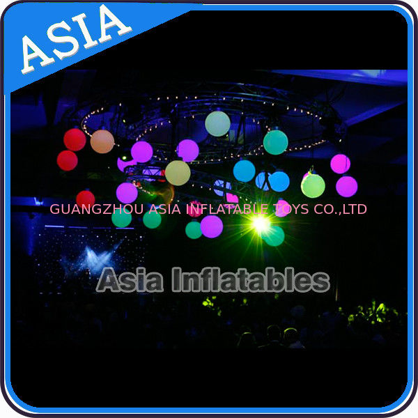 Inflatable LED Lighting Balloon Ceiling Decoration for Club Party Eclairage आपूर्तिकर्ता