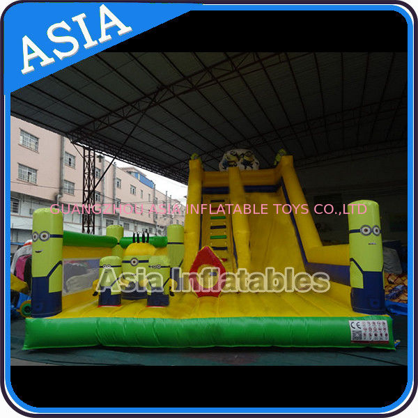 Minions Commercial Inflatable Bouncer For Sale / Inflatable Minions Bouncer Slide आपूर्तिकर्ता