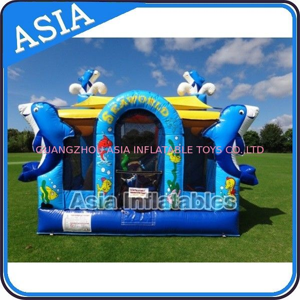 Sea World Bouncy House Inflatable Bouncer Children Amusement Sports आपूर्तिकर्ता