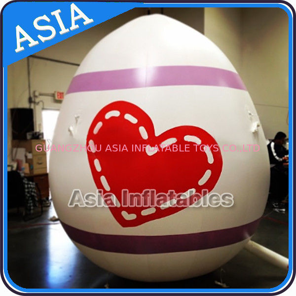 Egg Shape Helium Balloon And Blimps Inflatable Easter Balloons Customized Large आपूर्तिकर्ता