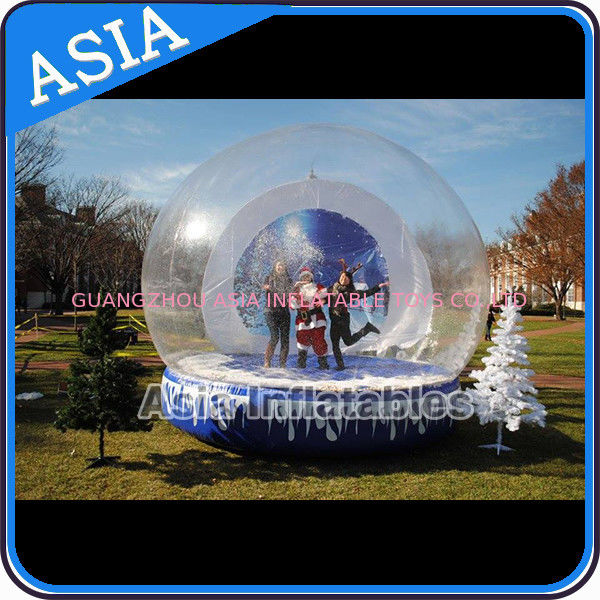 Christmas Inflatable Snow Globe Inflatable Bubble Tent Water And Fire Proof आपूर्तिकर्ता