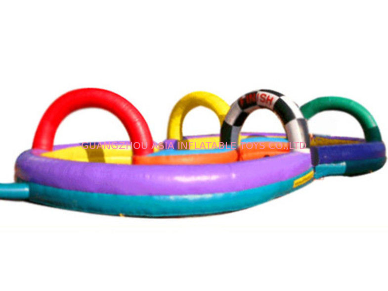 Colourful Zorb Ball Inflatable Racing Track for Events आपूर्तिकर्ता