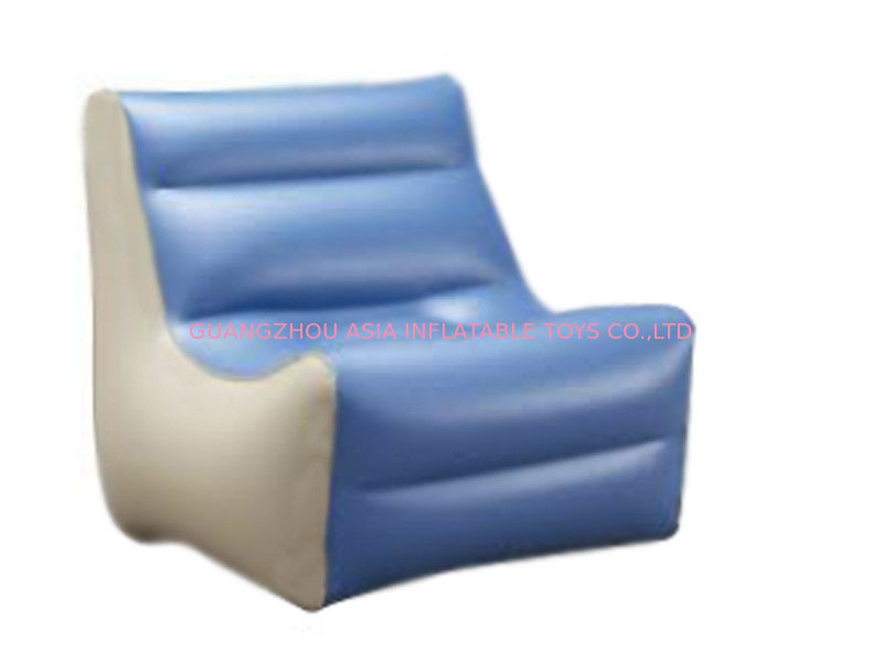 High Quality Inflatable Couch Sofa With 0.6mm Pvc Tarpaulin For 2 To 3 People आपूर्तिकर्ता