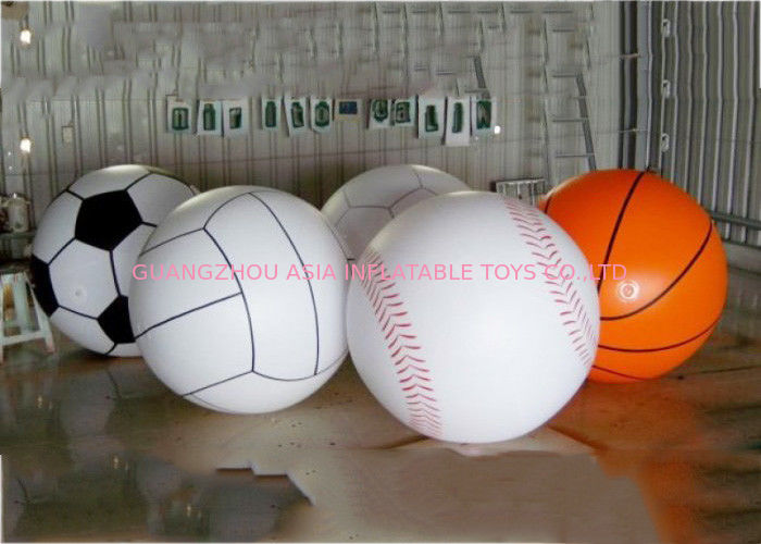 Giant Inflatable Football Basketball Sports Balloons Advertising Sport Ball आपूर्तिकर्ता