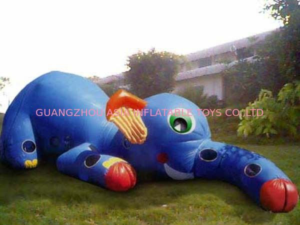Inflatable Animal Tunnel, Inflatable Elephant Trunk Tunnel Games आपूर्तिकर्ता