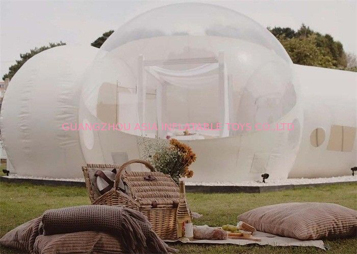 Inflatable Clear Bubble Tent for Outdoor Camping आपूर्तिकर्ता