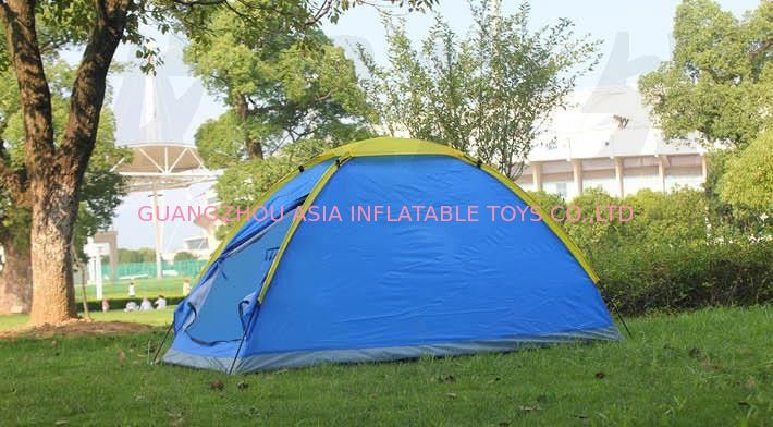 Easy To Carry One Person Outdoor Camping Hiking Seaside Canvas Tent आपूर्तिकर्ता