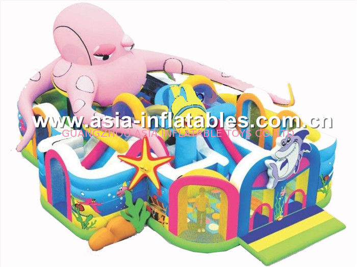 Hot Sale Inflatable Playground / Inflatable Funland / Inflatable Funcity