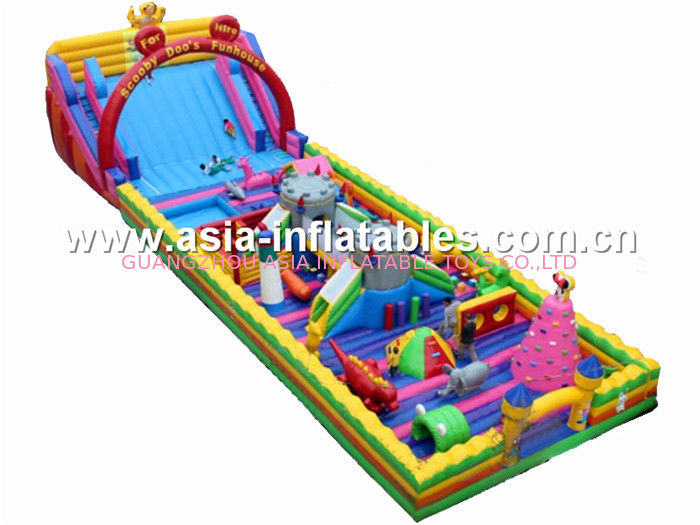 Hot Sale Inflatable Funland, Inflatable Fun Land For Park Rental Games